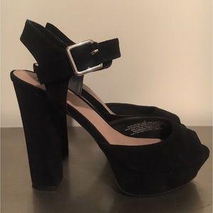 Black Heel Platforms